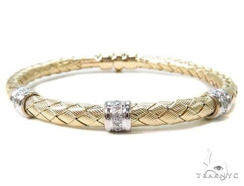 Prong Diamond Bangle Bracelet 37619 Bangle