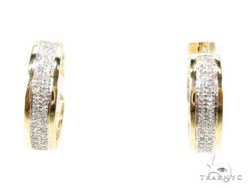 Prong Diamond Earrings 37634 Style