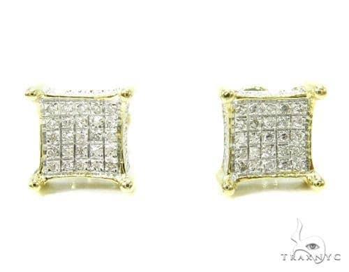 Prong Diamond Earrings 37657 Stone