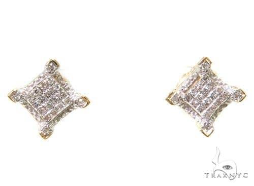 Prong Diamond Earrings 37650 Style
