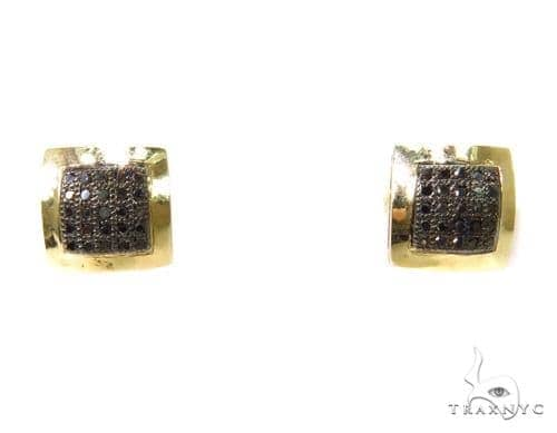 Prong Diamond Earrings 37668 Stone