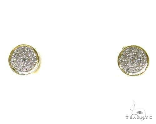 Prong Diamond Earrings 37677 Stone