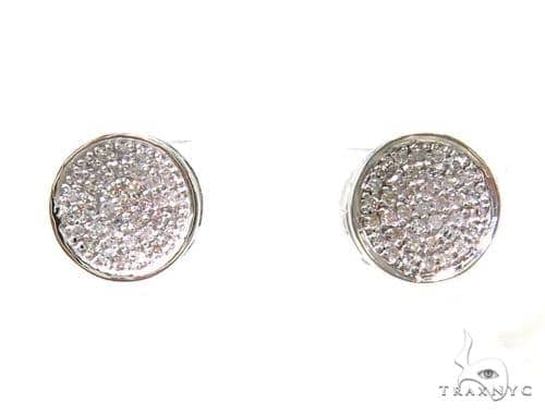 Prong Diamond Earrings 37683 Style