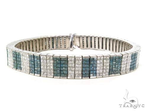 Invisible Diamond Bracelet 37695 Diamond