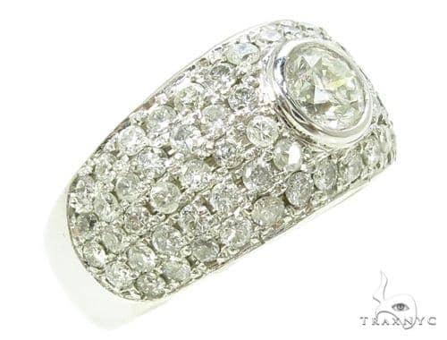 Bezel Diamond Ring 37791 Anniversary/Fashion