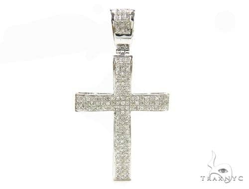 Prong Diamond Cross 37833 Diamond