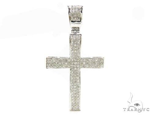 Prong Diamond Cross 37833 Diamond