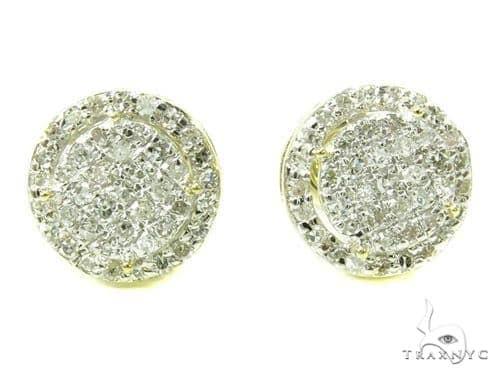 Prong Diamond Earrings 37890 Stone