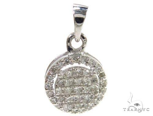 Prong Diamond Pendant 37895 Stone