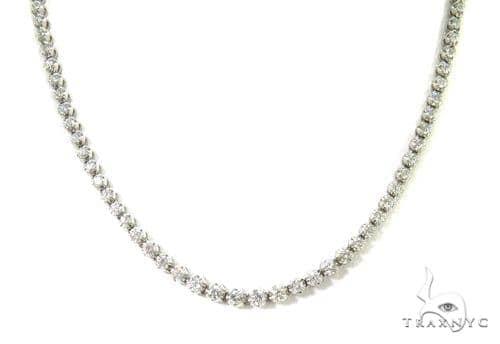 Prong Diamond Necklace 37978 Diamond