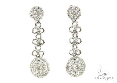 Prong Diamond Chandelier Earrings 38023 Style