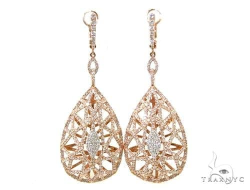 Basilica Diamond Chandelier Earrings 38031 Style