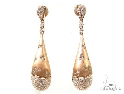 Chestnut Diamond Chandelier Earrings 38032 Style