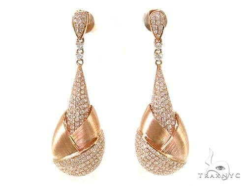 Prong Diamond Chandelier Earrings 38033 Style