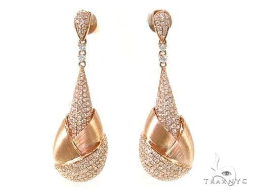 Prong Diamond Chandelier Earrings 38033 Style