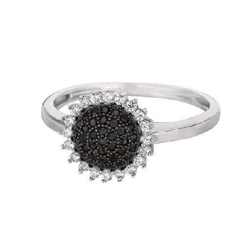 Silver Shiny Sun Flower Top Size 8 Ring Anniversary/Fashion