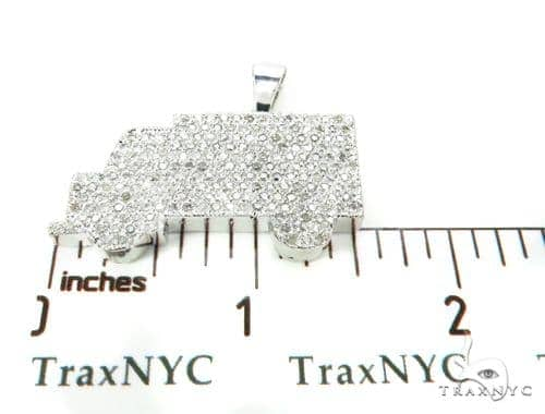 Custom Diamond Truck Pendant 39269 Diamond Pendants
