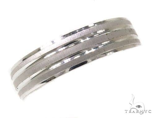Mens Double Stripe Wedding Band Style