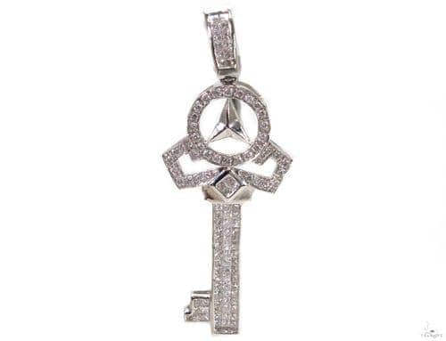 Invisible Diamond Key Pendant 39431 Style