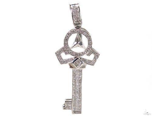 Invisible Diamond Key Pendant 39431 Style