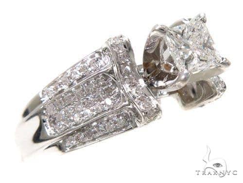 Invisible Diamond Wedding Ring 39705 Engagement