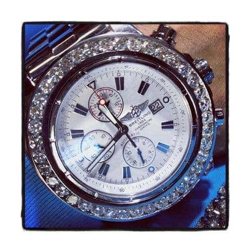 Breitling Super Avenger Diamond Watch Breitling