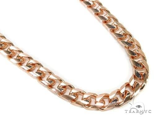 14K Gold Cuban Chain 30 Inches, 7mm, 96.6 Grams Gold
