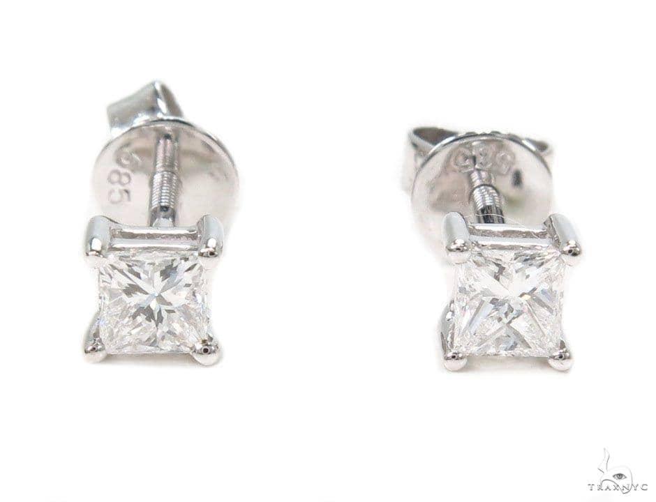 Prong Diamond Earrings 39900 Style