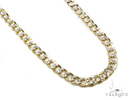 10k Yellow Gold Cuban Chain 30 Inches 6mm 19.8 Grams-40007 Gold