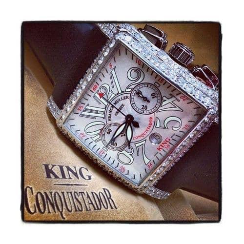 Franck Muller King Cortez Chronograph Diamond Watch Franck Muller