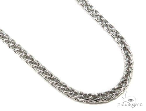 Silver Hollow Chain 30 Inches 5mm 31.6 Grams-40074 Silver