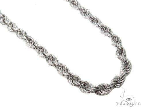 Twist Silver Chain 36 Inches 10mm 113 Grams-40080 Silver