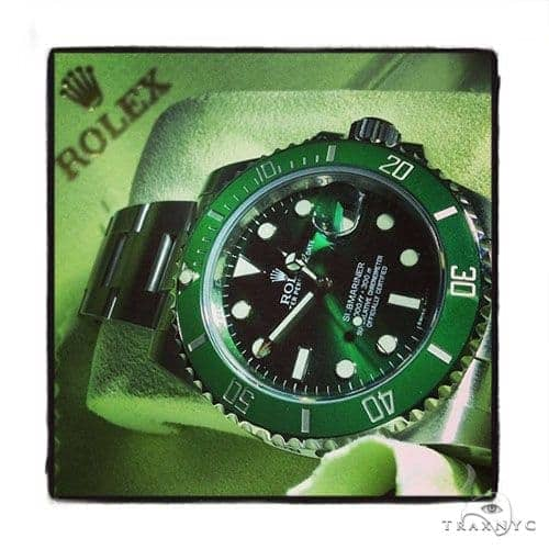 Rolex Submariner Steel 116610 Green Dial