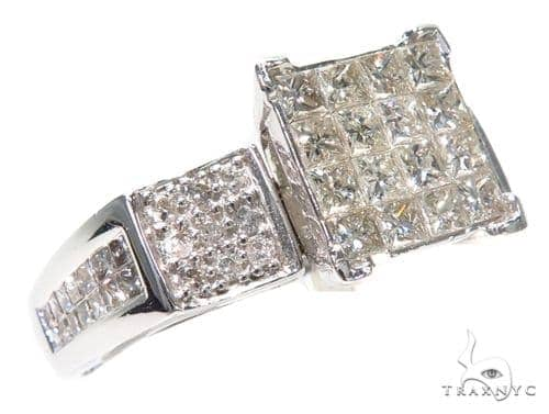 Invisible Diamond Wedding Ring 40477 Engagement