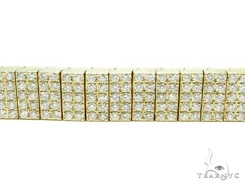 Pave Diamond Bracelet 40688 Mens Diamond Bracelets