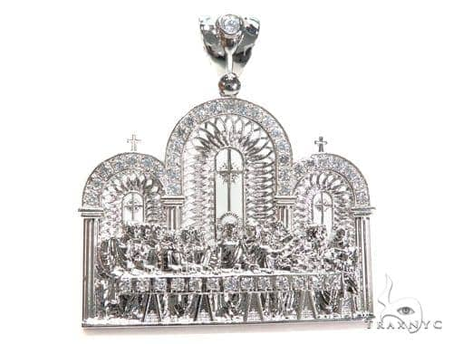 Cross Sterling Silver Pendant 40878 Metal
