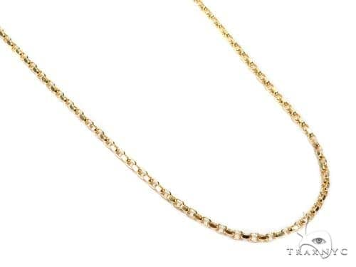 Cable Gold Chain 18 Inches 2mm 6.7 Grams 40914 Gold