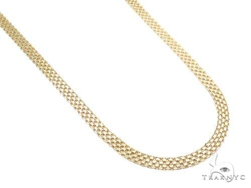 Bismark Gold Chain 24 Inches 6mm 20.6 Grams 40911 Gold