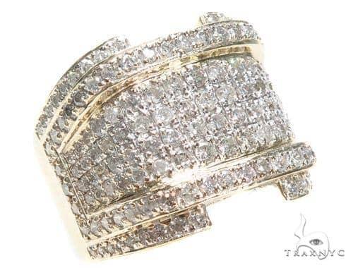 Yellow Gold XL RSVP Ring 2 40991 Stone