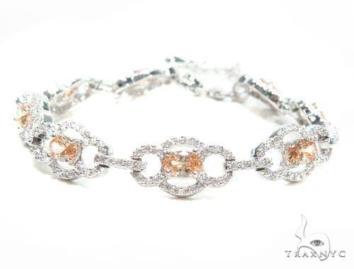 Sterling Silver Bracelet 41083 Silver & Stainless Steel