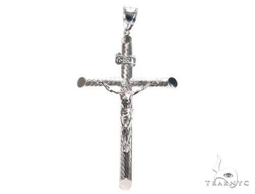 Jesus Silver Cross 41102 Silver