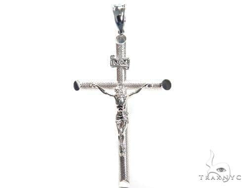 Jesus Silver Cross 41104 Silver