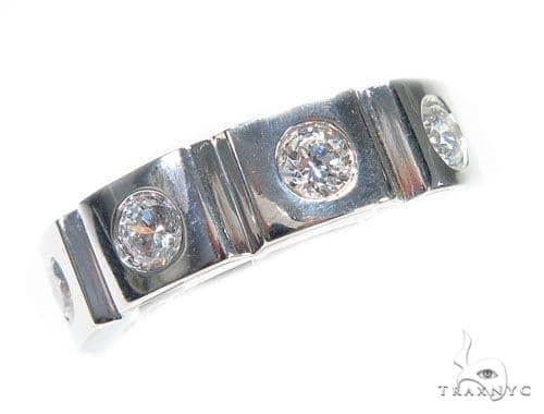 Bezel Diamond Ring 41211 Stone