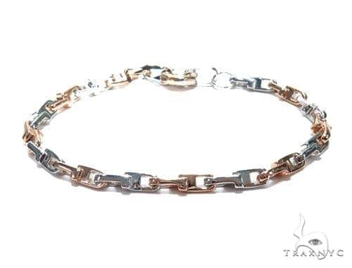 Bezel Diamond Gold Bracelet 41225 Gold