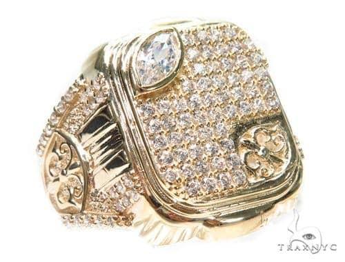 14k Yellow Gold Ring 41234 Metal