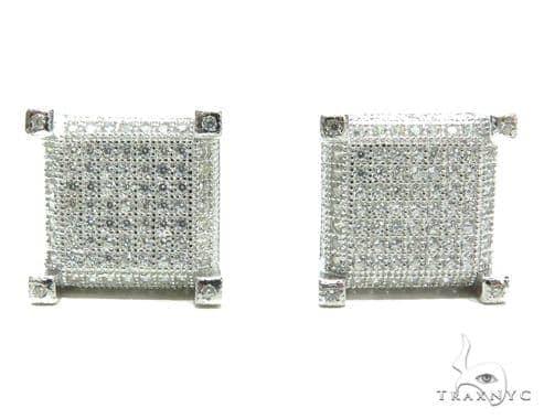 Sterling Silver Earrings 41279 Metal