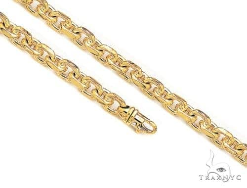 14K Gold Cable Chain 30 inches 5.6mm 141.1 Grams 41371 Gold