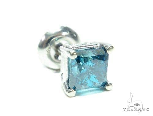 Blue Diamond Single Earring 41583 Style