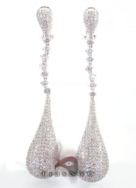Tear Drop Earrings 2 Stone