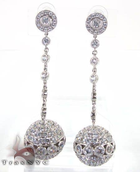 Disco Earrings Hip Hop Earrings